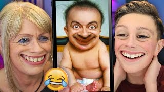 *HARDEST* TRY NOT TO LAUGH (99.9% IMPOSSIBLE CHALLENGE) w/My Mum
