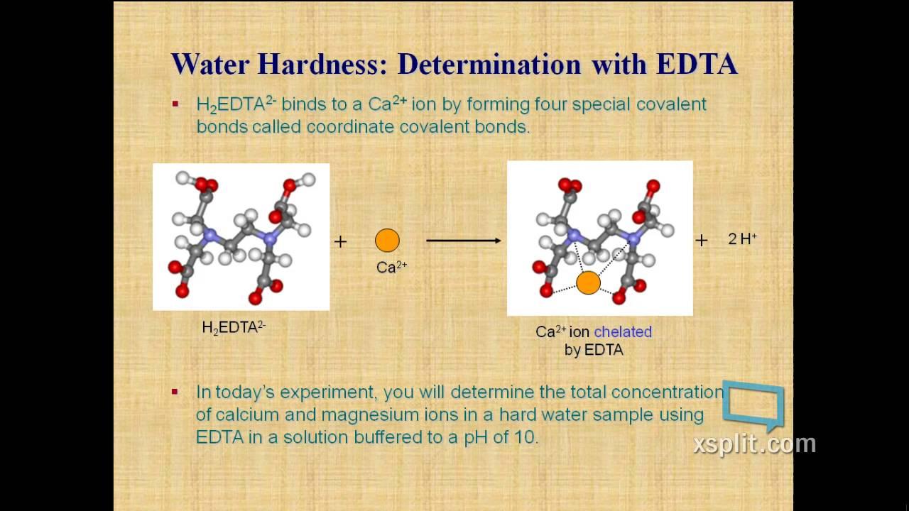 determination of hardness in water This calculator helps you determine the total water hardness by using  be held  responsible for errors in the calculation, the program itself or the explanation.