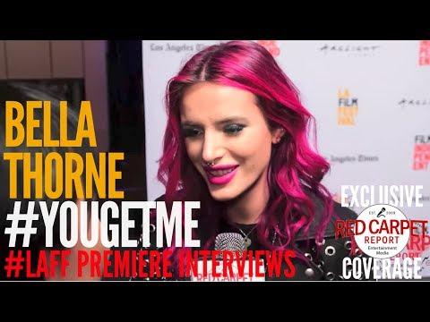 "Bella Thorne interviewed at #LAFF Premiere of ""You Get Me,"" Netflix Original Film"