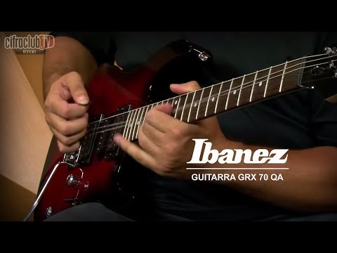 Playtech | Review Guitarra Ibanez GRX70 QA