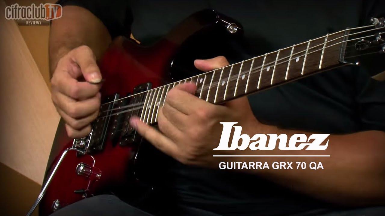 Conheca A Guitarra Ibanez Grx70 Qa Da Playtech