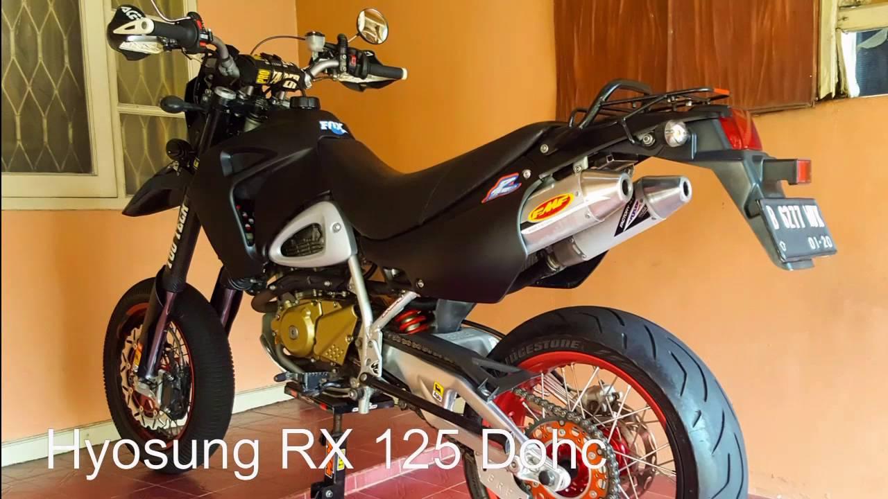 hyosung rx 125 dohc thn 2008 youtube. Black Bedroom Furniture Sets. Home Design Ideas