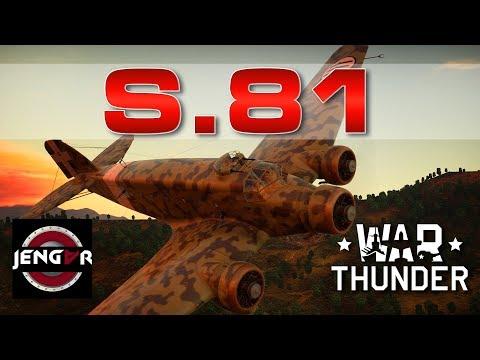 War Thunder Realistic: S.81 [Big Bada Boom]