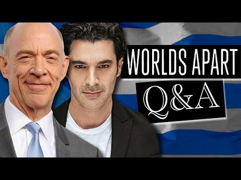 WORLDS APART Q&A // JK Simmons & Christopher Papakaliatis // Enas Allos Kosmos