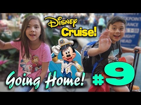 GOING HOME!!! 4K Disney Cruise Adventure HIGHLIGHTS - PART 9 Grand Finale!
