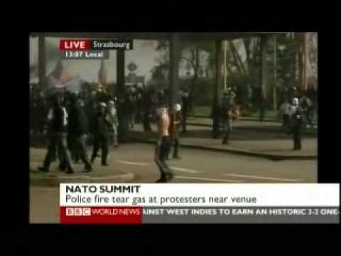 NATO Summit 1 of 9 - BBC World News Reports 2009
