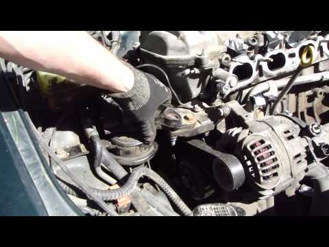 Where are four engine mounting locations Toyota Corolla VVT-i engine