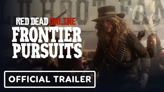 Red Dead Online - Official Legendary Bounty Target Trailer