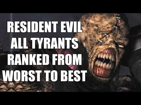 Resident Evil - All Tyrants Ranked From Worst To Best