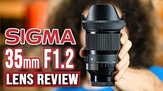 SIGMA 35mm f1.2 Sony E-Mount Lens REVIEW | This CHANGES EVERYTHING!!!