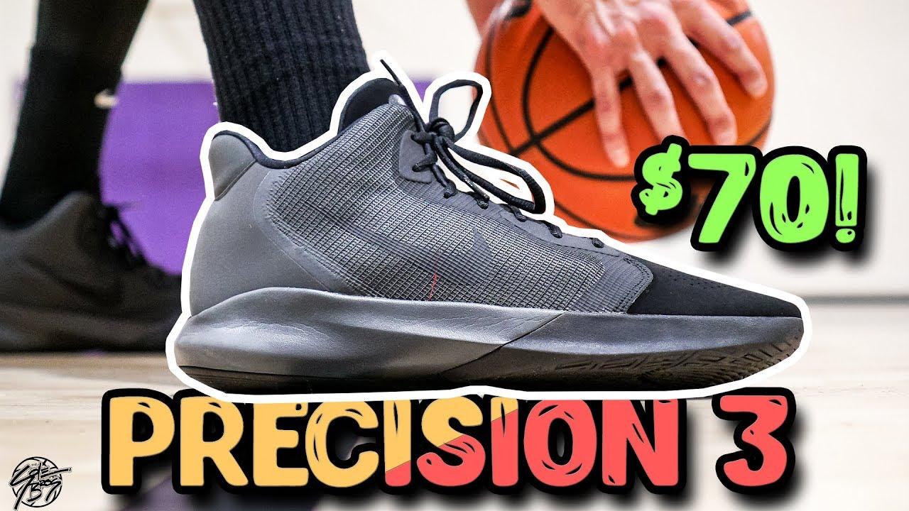 Despedida Fraseología Volar cometa  Does It Basketball? $70 Nike Precision 3! - YouTube