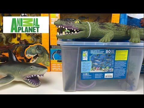 Mega Collection Animal Planet Deep Sea Creatures Dinosaurs