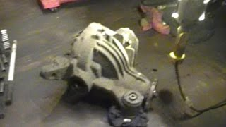 2002 and up ford explorer mountioneer 4 6 rear differential removal