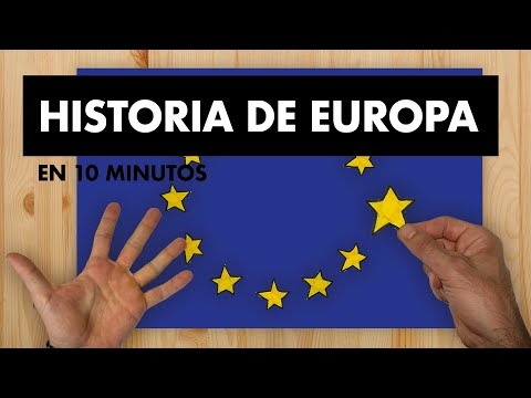 Historia De Europa En 10 Minutos Youtube
