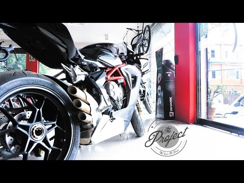 THE PROJECT    SUPERBIKE IN NEPAL MV AGUSTA
