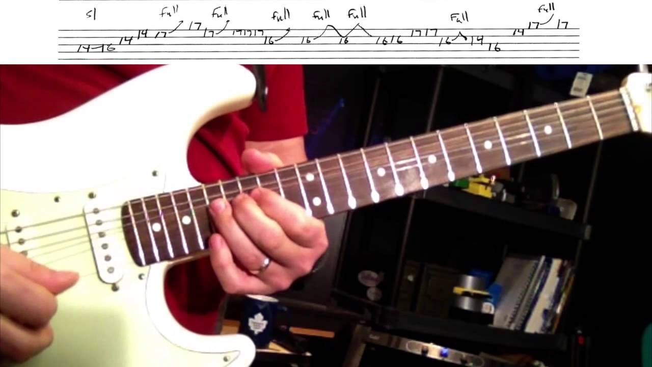 time by pink floyd guitar solo w tabs youtube. Black Bedroom Furniture Sets. Home Design Ideas