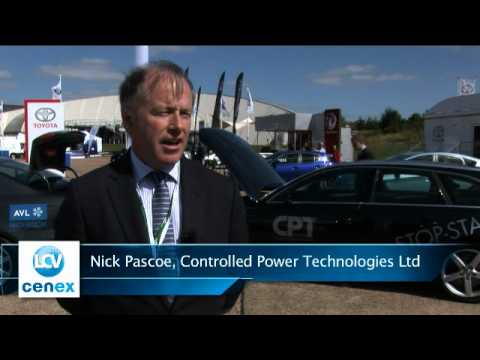 Nick Pascoe, Controlled Power Technologies Ltd Speaking at LCV2012