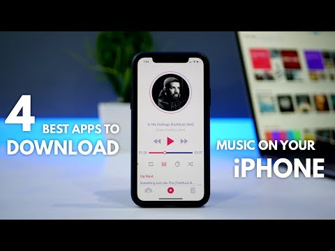 TOP 4 Best Apps to Download Music on Your iPhone (OFFLINE MUSIC) | Appstore Apps!!
