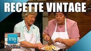Recette : Poularde au vin et pommes de terre au fromage de Maïté | Archive INA
