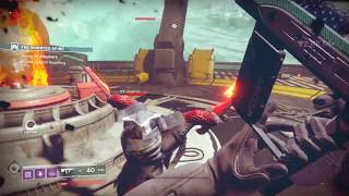 Destiny 2 Beta The Inverted Spire Strike in Arcadian Valley, Nessus (Playstation 4 Pro)