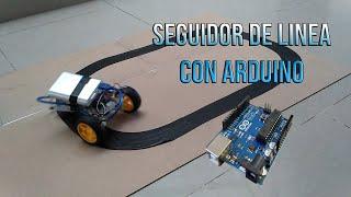 Carro seguidor de linea Arduino EXPLICACION