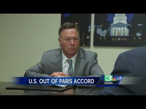 California reacts after Trump decides to pull out of Paris Accord