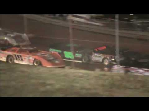 Wreck fest at Rome Speedway 20161002