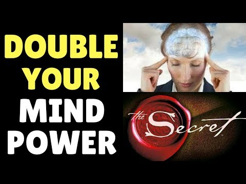 Law Of Attraction Mind Power Technique To Manifest ANYTHING You Desire | The Secret (ADVANCED)