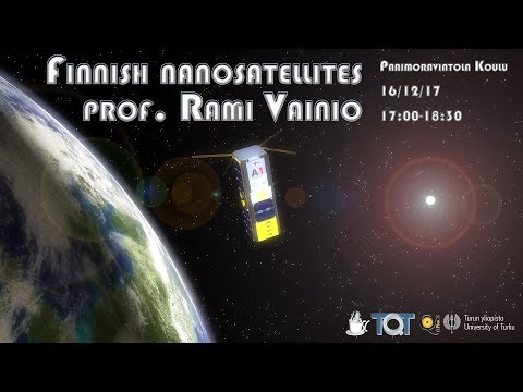Science Cafe Turku - (Rami Vainio) - Finnish Nanosatellites