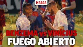 Fuego abierto Benzema-Vinícius en el Real Madrid I MARCA