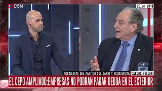 16-09-2019 - Carlos Heller en C5N - Recalculando, con Julián Guarino - #Economía #Eleccioneso