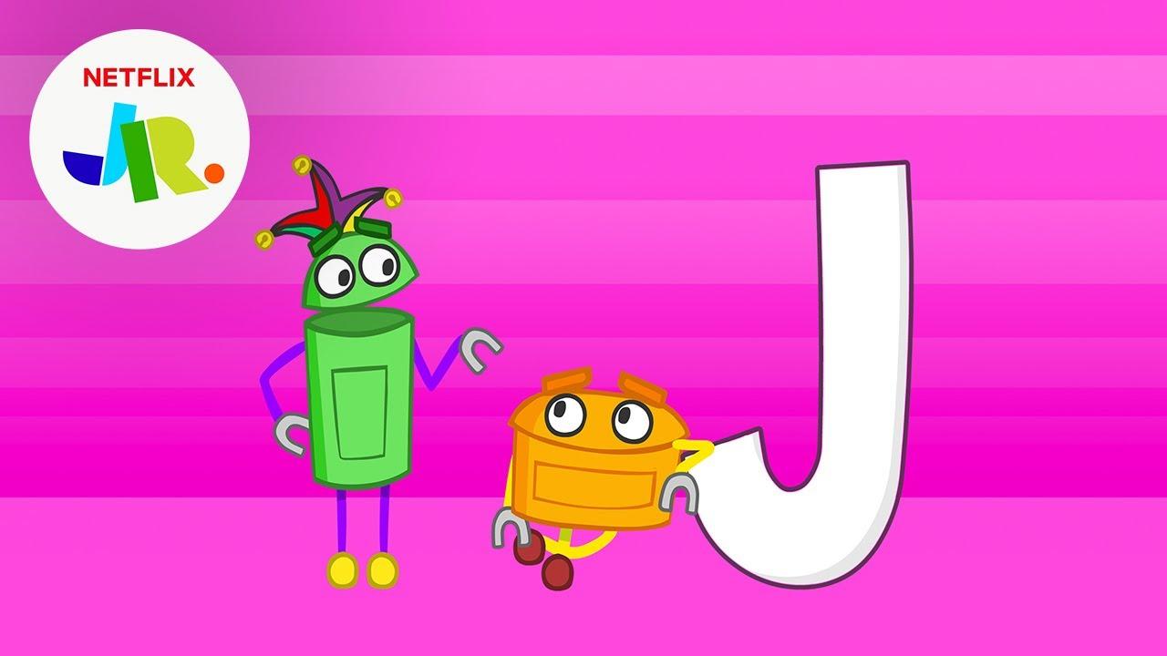 Letter J | StoryBots ABC Alphabet for Kids | Netflix Jr