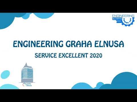 Service Excellent 2020 Engineering Graha Elnusa