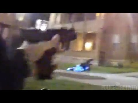 Bodycam: Intense Shootout With Cincinnati Police