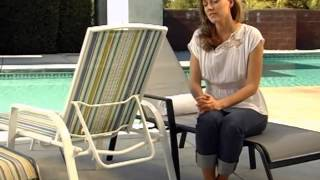 Poolside Chaise Lounge Set Of 2 - Product Review Video