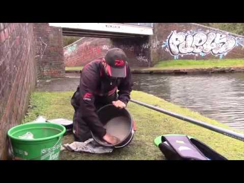 Winter Canal Fishing - Underwater Footage - Rikki Richards