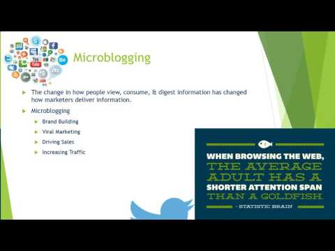 Microblogging Part 1 (Chapter 6)