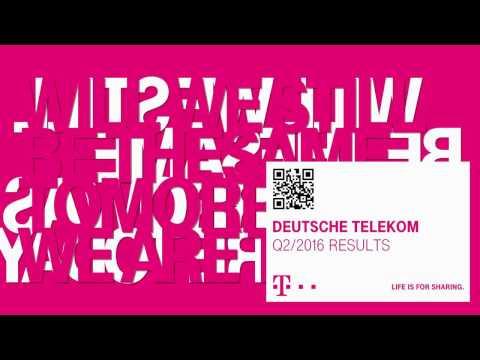 Deutsche Telekom's Q2-2016 investor conference call