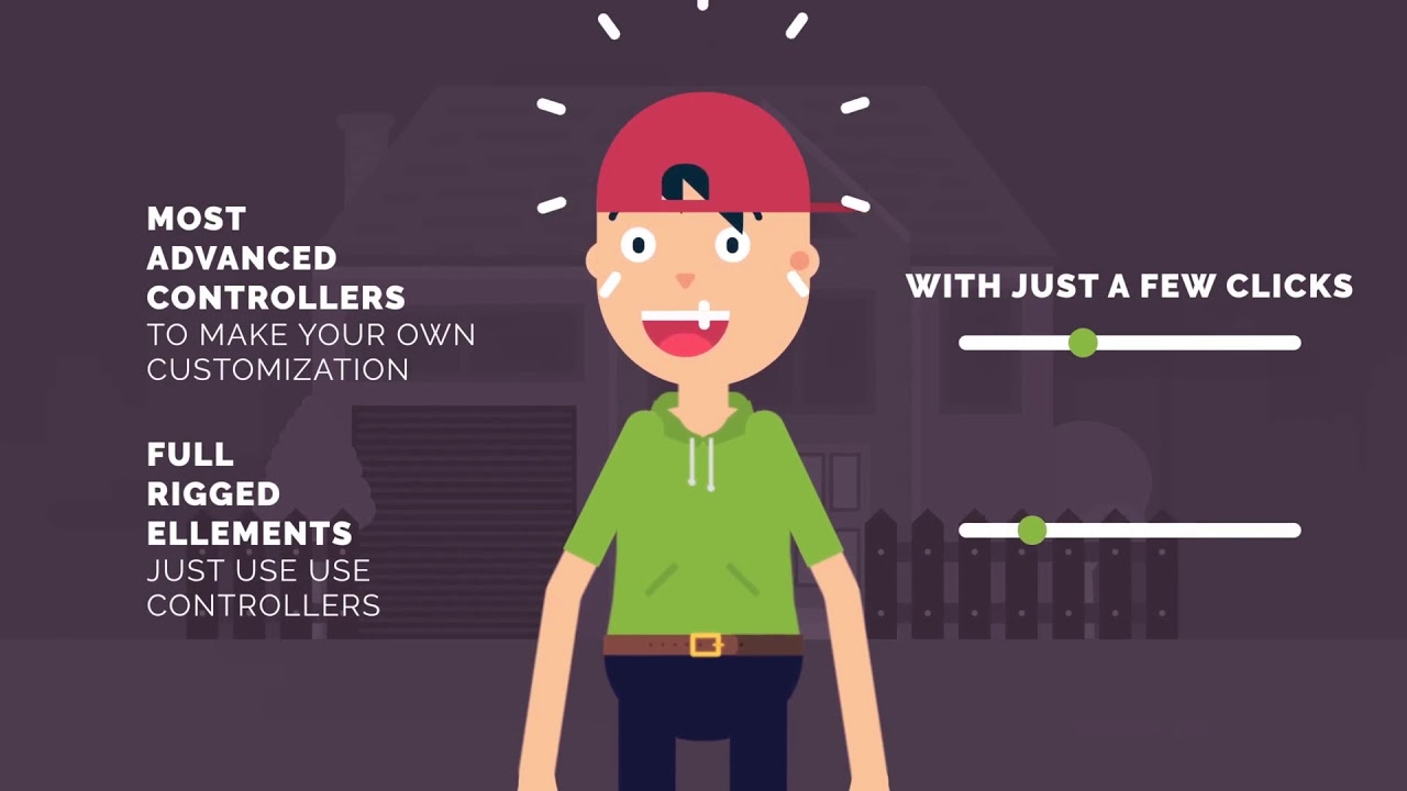 Character Maker - Explainer Video Toolkit 2 | After Effects Project Files -  Videohive template