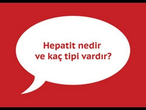 Hepatit nedir ve kaç tipi vardır?