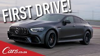 Mercedes-AMG GT4 Launch Review - First Drive in Merc
