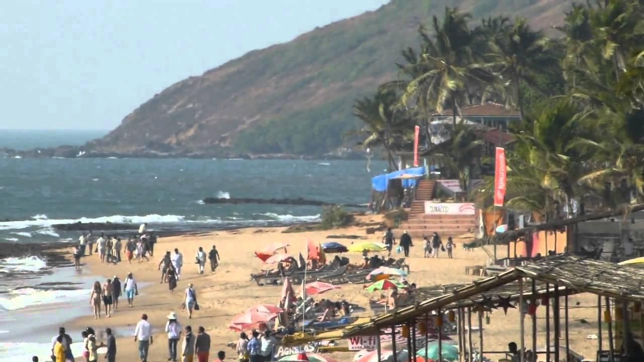 Anjuna Beach And Wednesday Day Market Goa India ГОА Youtube