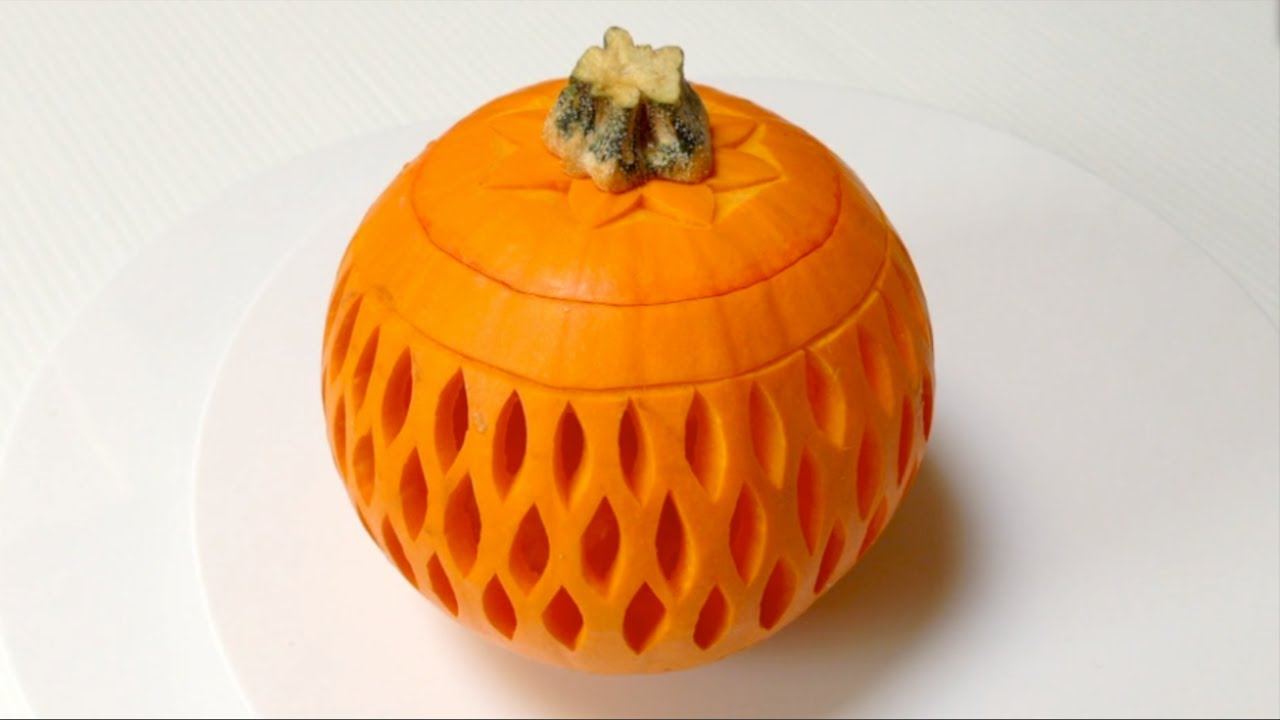 Beautiful lantern pumpkins style beginners lesson by