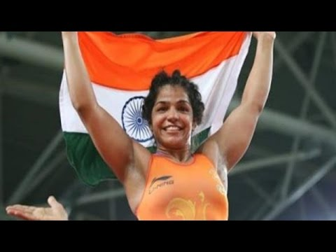 Sakshi Malik Wins Bronze Medal for India in Rio Olympics 2016