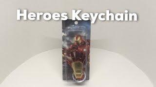 Super Hero Keychains