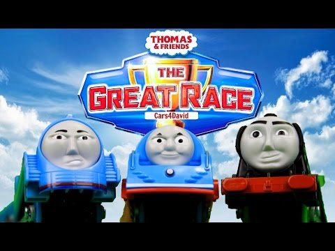 THOMAS AND FRIENDS THE GREAT RACE 3 BEST COMPILATION   THOMAS & FRIENDS TRACKMASTER TOY TRAINS KIDS