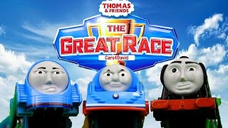 THOMAS AND FRIENDS THE GREAT RACE 3 BEST COMPILATION | THOMAS & FRIENDS TRACKMASTER TOY TRAINS KIDS