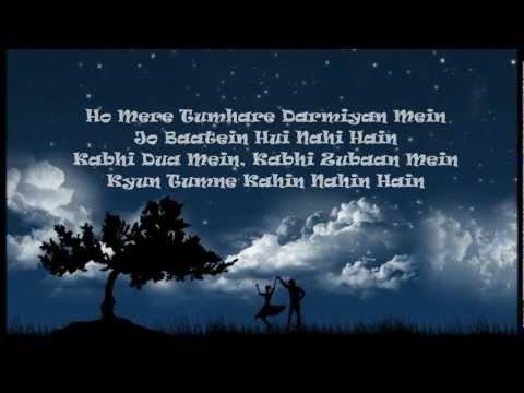 Anjaana Anjaani with lyrics.wmv