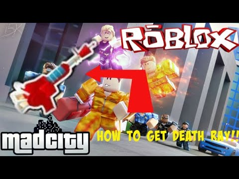 Getting the Death Ray in Mad City! #Roblox #Tutorial #Game thumbnail