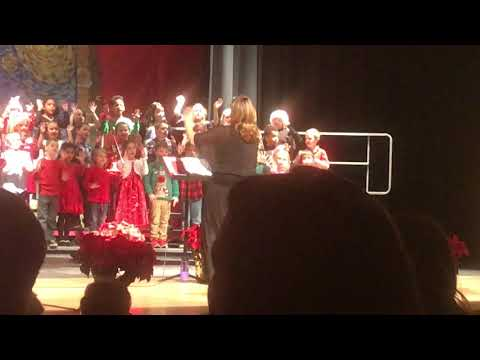 Mary r fisher elementary school 2017 holiday concert second grade